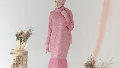 2. Baju Muslim Pesta Mewah