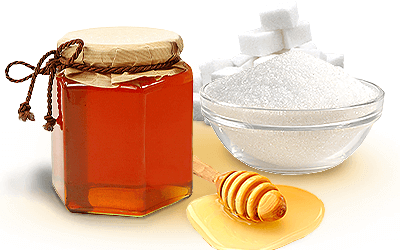 Manfaat Madu dan Gula untuk Bibir
