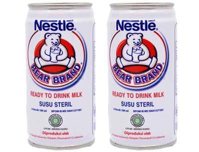 Anak Sakit Tipes, Bolehkah Minum Susu Bear Brand?