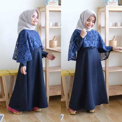 Baju Kebaya Anak Muslim