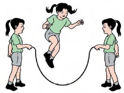 5. Lompat Tali