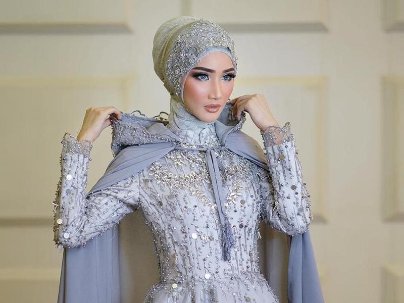Inspirasi Gaun Pengantin Muslim Cantik Dan Elegan Untuk