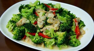 Brokoli Goreng Mentega