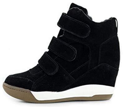 Sepatu Sneakers Wedges Wanita