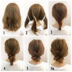 Cara Mengikat Rambut Anak Pendek