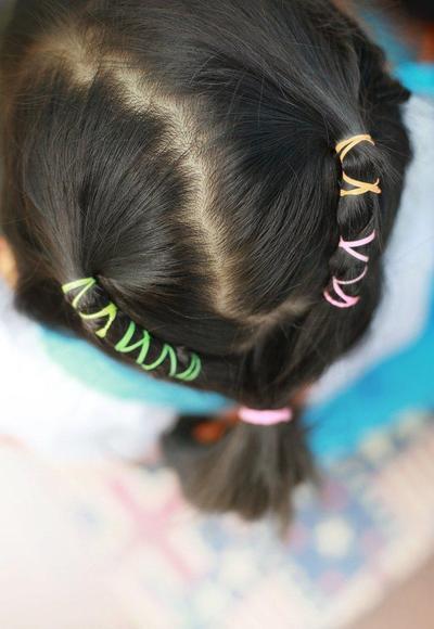 Cara Mengikat Rambut yang Unik