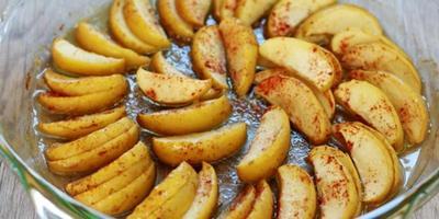 4. Resep Finger Food Apel Panggang