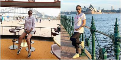 6 Gaya Babymoon Kimmy Jayanti, Hamil Bukan Halangan untuk Tetap Stylish!