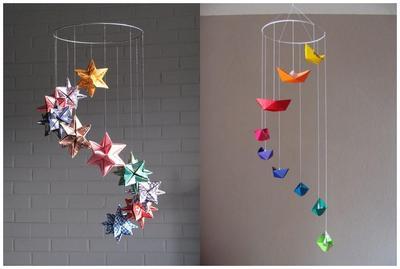 3 Ide Kreasi Hiasan Kamar Anak dari Kertas Origami, Murah Meriah, Moms!