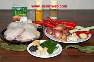 Bahan-Bahan Ayam Bakar Padang
