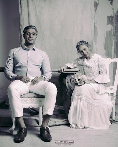 70 Years Challenge, Irish Bella dan Ammar Zoni Menua di Foto Prewedding Terbarunya
