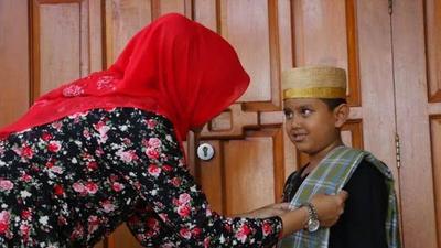 Mengajak Anak Tarawih