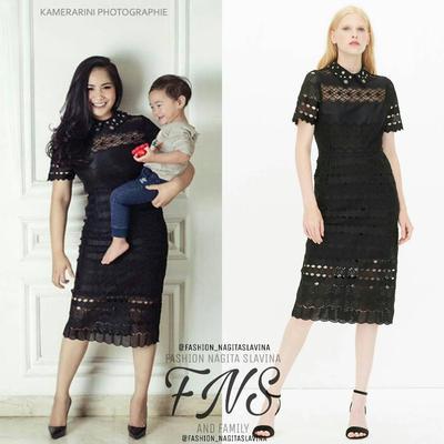 5 Inspirasi Fashion Ala Nagita Slavina untuk Wanita Bertubuh Mungil