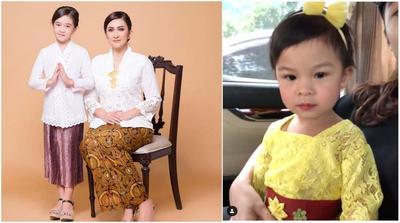 Yuk, Moms Intip Gemasnya Gaya Anak Artis di Hari Kartini dengan Baju Adat!