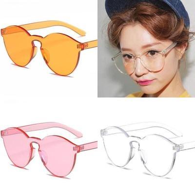 Kacamata Jelly Warna Kuning Dan Putih