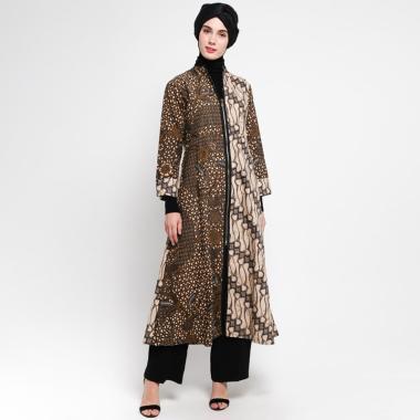 1. Gamis Batik Modern