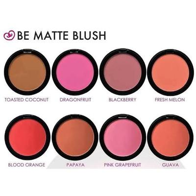 4. Pilih Matte Blush