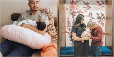 Raditya Dika Tegang Saat Belajar Gendong Anak, Ini Lho Cara Tepat Menggendong Bayi Baru Lahir