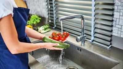 Cuci Sayuran Sebelum Disimpan