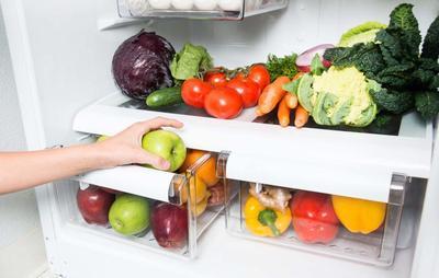 Pisahkan Sayuran dengan Buah-buahan
