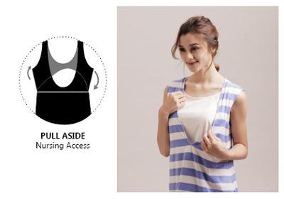 Model Baju Menyusui Pull Aside