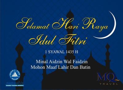 Kumpulan Ucapan Selamat Idul Fitri 2019 Dalam Bahasa Indonesia