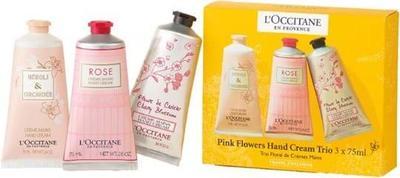 5. L'Occitane Pink Flowers Hand Cream