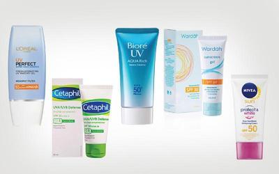 3. Sunscreen