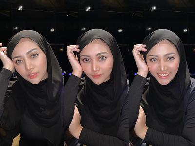 Simpel! Yuk Tiru Inspirasi Style Hijab Pashmina Ala Rachel Vennya