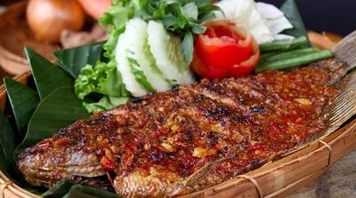 Resep Ikan Bakar Gurame Bumbu Daun Jeruk