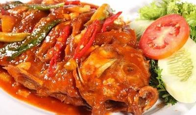 Ikan Gurame Bumbu Rujak