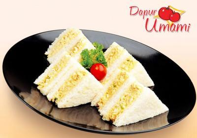1. Roti Lapis Telur Mayo