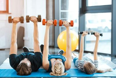 Aktif dan Berolahraga Rutin