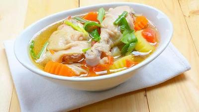 1. Sup Ayam Kampung