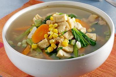 3. Sup Sayur Tahu