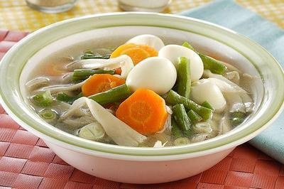 5. Sup Telur Puyuh