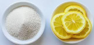 Gula Pasir dan Perasan Lemon