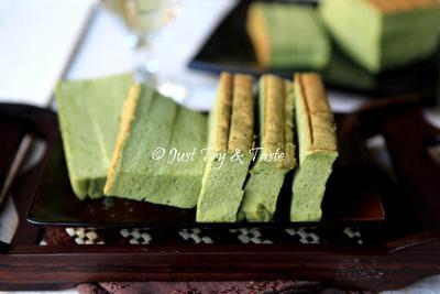 Green Tea Ogura Cake
