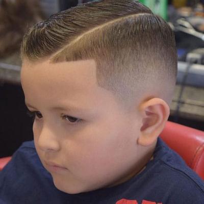 Bald Fade Haircut Kids 94
